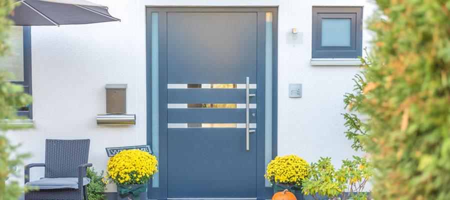Pourquoi choisir une porte extérieure en aluminium ?